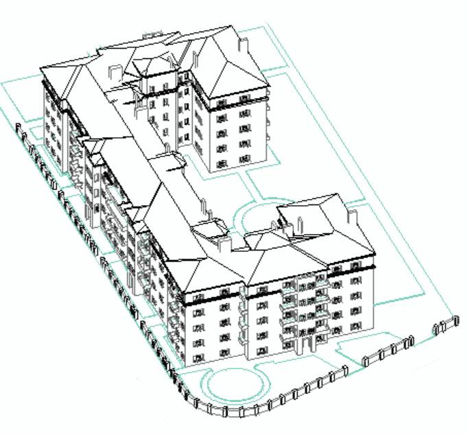 Будинок Слово, 3D